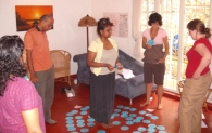 Intro Training in Colombo, July 2009