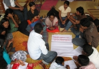 Small Group Discussion at Residential training