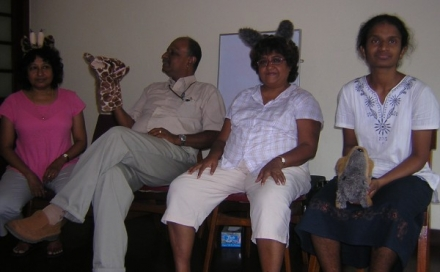 Healing Pain in Families - NVC intro in Colombo