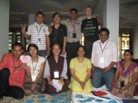 int'l Network of Engaged Buddhists Conf, Oct 2011 in Bodhgaya, India