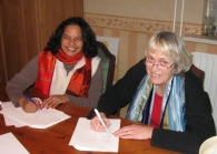 Signing of Stichting Papers, Netherlands
